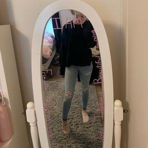 H&M cozy black sweater